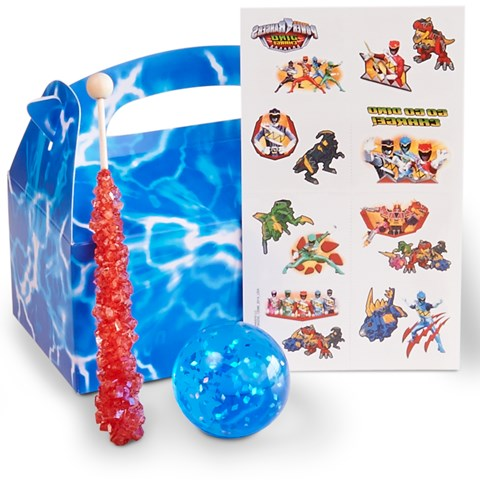 Power Rangers Dino Charge Filled Party Favor Box