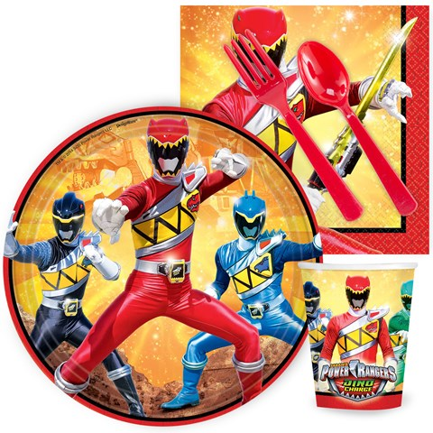 Power Rangers Dino Charge Snack Party Pack