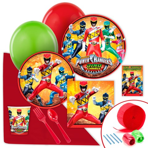 Power Rangers Dino Charge Value Party Pack