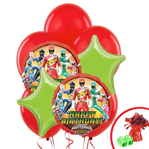 Power Rangers Dino Charge Balloon Bouquet