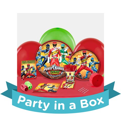 Power Rangers Dino Charge Party in a Box
