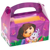 Dora's Flower Adventure Personalized Write-In Empty Favor Boxes