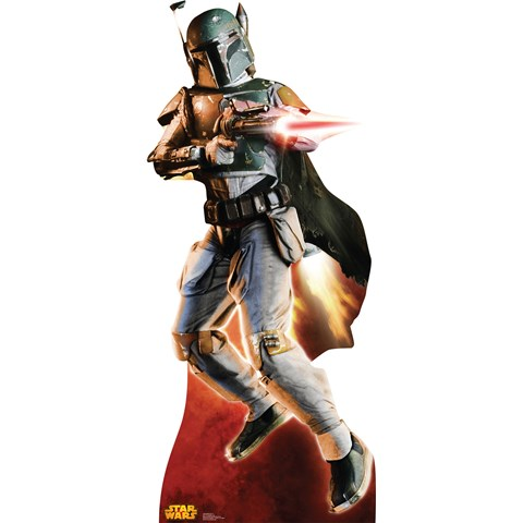 Star Wars Boba Fett Stand Up