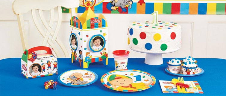 Caillou Party Supplies Birthdayexpress Com