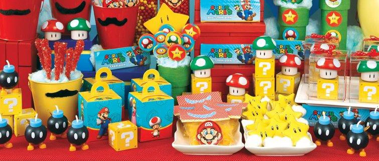You Have The Balloons Banners And Other Decorations All Set For An Incredible Super Mario Birthday Party But Don T Forget About Tableware