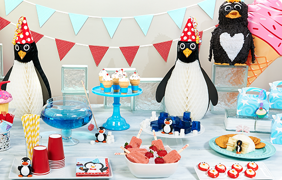 Penguin Party Personalized Lifestyle Photos