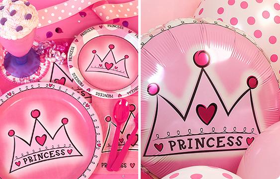 Birthday Princess 1st Birthday Lifestyle Photos
