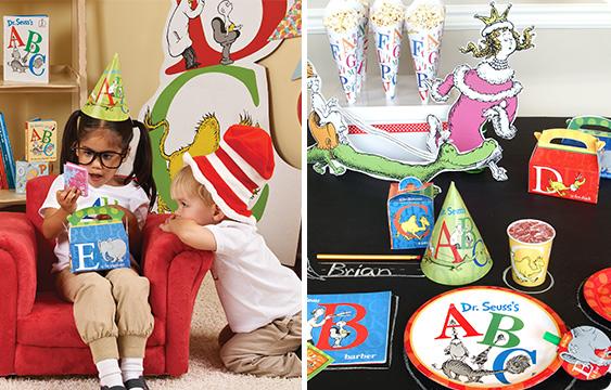 Abc Party Favors: Dr. Seuss ABC Theme Party Supplies