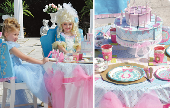 Princess Tea Party Lifestyle Photos