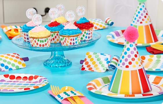 Rainbow Birthday Lifestyle Photos