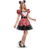 Adult Glam Red Minnie Costume