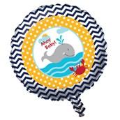 """Ahoy Matey 18"""" Foil Balloon (1)"""