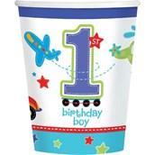 All Aboard 1st Birthday 9oz Cups (18)