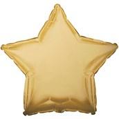Antique Gold Star Foil Balloon