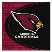 Arizona Cardinals Lunch Napkins