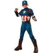 Avengers 2 - Age of Ultron: Deluxe Captain America Kids Costume