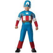 Avengers Assemble Captain America Toddler Boy Costume