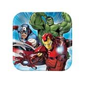 Avengers Assemble Squared Dessert Plates
