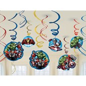 Avengers Assemble Swirl Decorations (12)