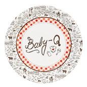 Baby-Q Dinner Plate (8)