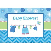 Baby Shower Boy Shower With Love Invitations (8)