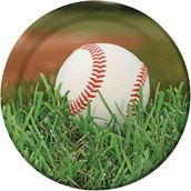 "Baseball 9"" Luncheon Plate (8)"