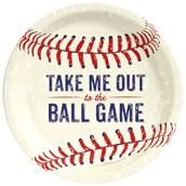 Baseball Time Dinner Plates