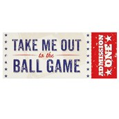 Baseball Time Invitations