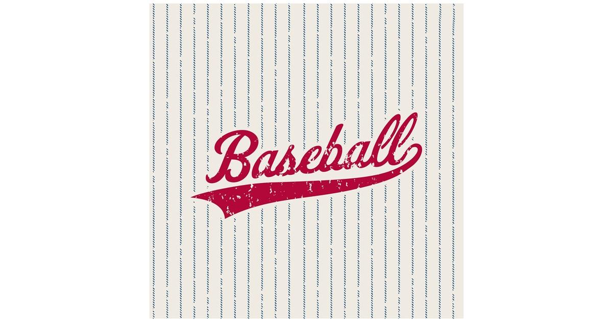 Baseball Time Lunch Napkins Birthdayexpress Com