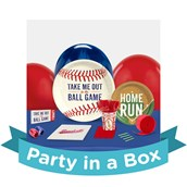Baseball Time Party in a Box For 8