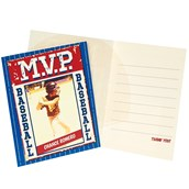 Baseball Time Personalized Thank You Notes (8)
