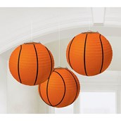 Basketball 9 1/2 Paper Lantern Decoration