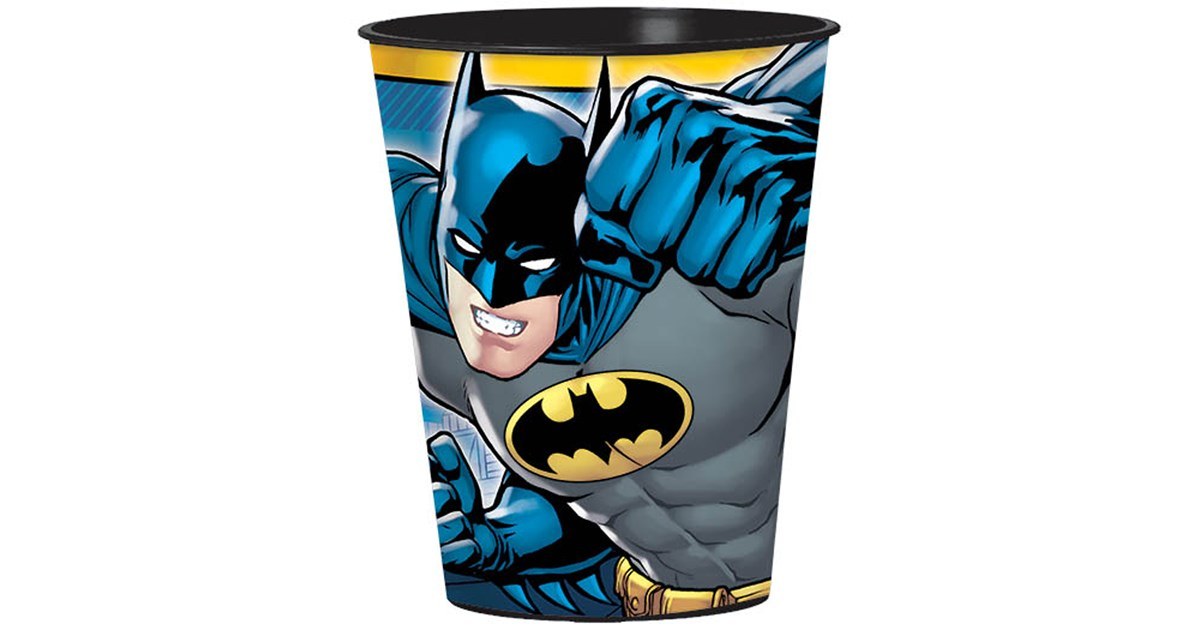 Batman 16 Oz Plastic Cup Birthdayexpress Com
