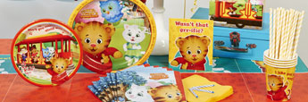 Shop Daniel Tiger Party