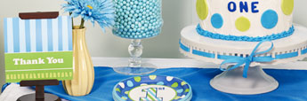 Shop First Birthday Party