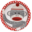 Sock Monkey Red