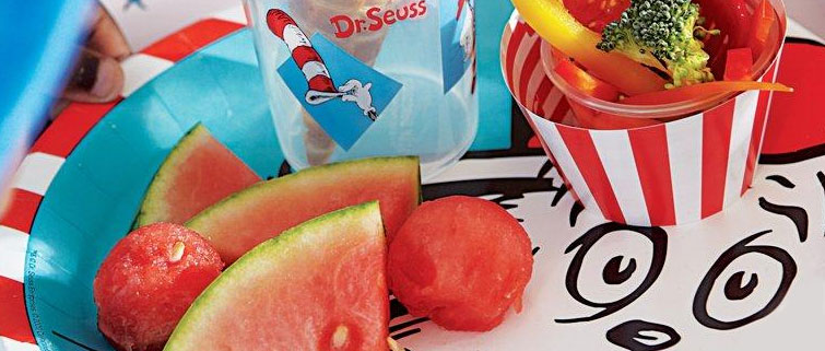 Tableware  sc 1 st  Birthday Express : dr seuss tableware - pezcame.com