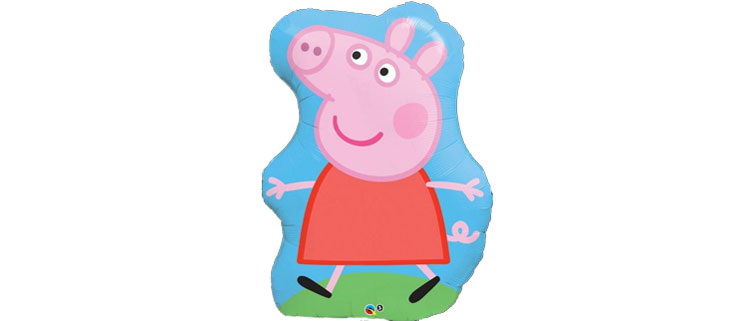Peppa pig george party pieces party supplies party for Peppa pig tattoo