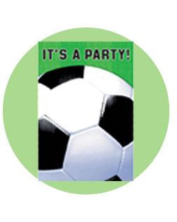 invites - Soccer Party Invitations