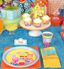 Pajanimals 1st Birthday ideas