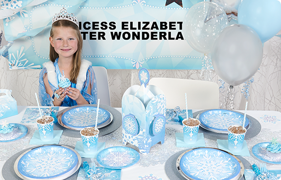 Snowflake Winter Wonderland Lifestyle Photos