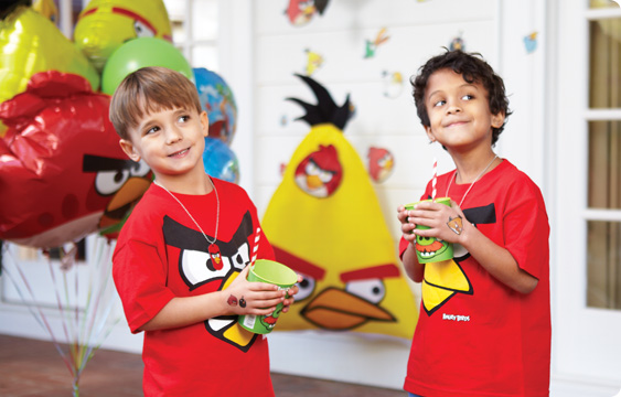 Angry Birds Lifestyle Photos