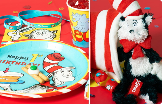 Dr. Seuss 1st Birthday Lifestyle Photos