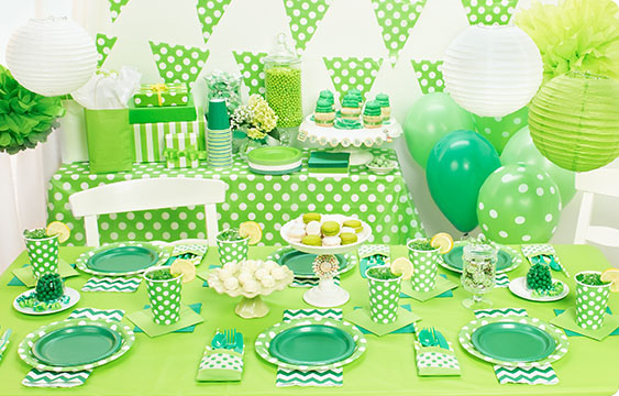 Chevron green party supplies birthdayexpress