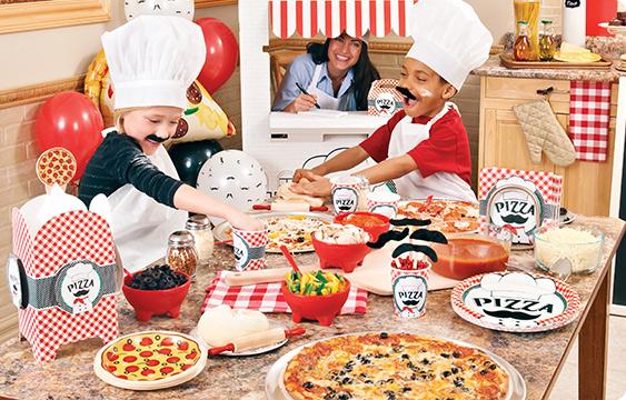 Itzza Pizza Party Lifestyle Photos