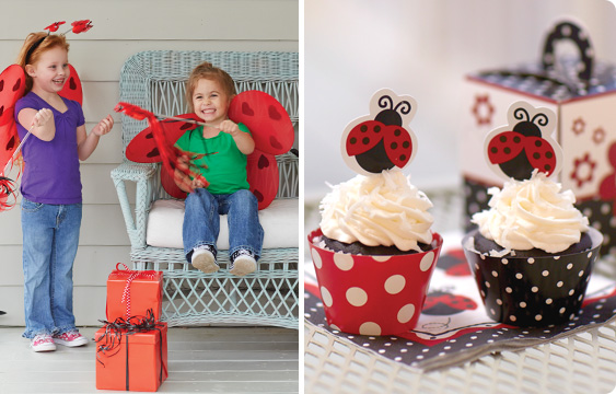 LadyBug Fancy Party Lifestyle Photos