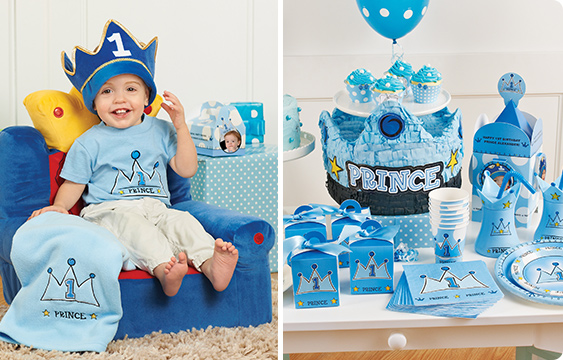 Lil Prince 1st Birthday Lifestyle Photos