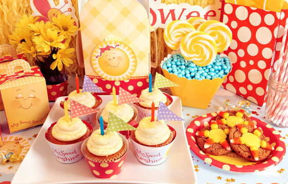 Little Sunshine Party Lifestyle Photos