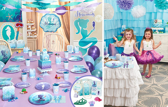 Mermaids Under The Sea Party Supplies BirthdayExpresscom