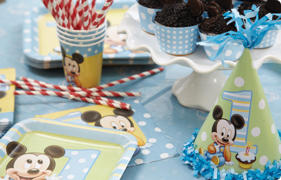 Mickey Mouse 1st Birthday Lifestyle Photos